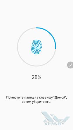 Добавление отпечатка на Samsung Galaxy Note 5