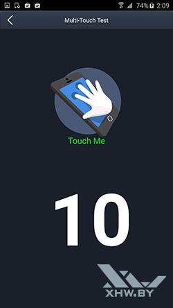 Экран Samsung Galaxy Note 5 распознает 10 касаний
