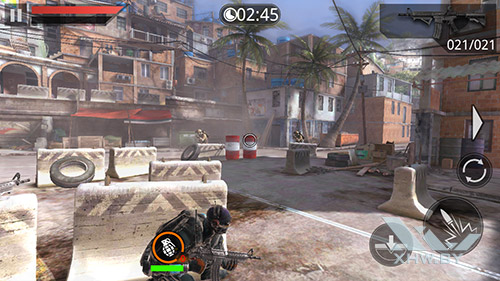 Игра Frontline Commando 2 на Dexp Ixion ML2 5