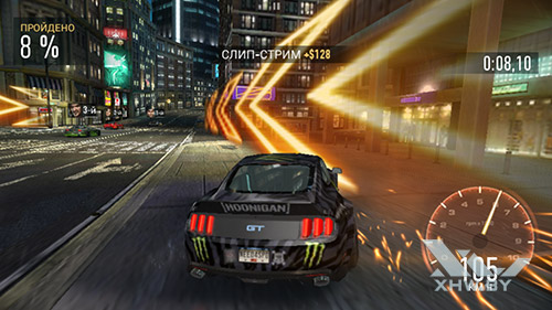 Игра Need For Speed: No Limits на Dexp Ixion ML2 5