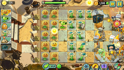 Игра Plants vs Zombies 2 на Dexp Ixion ML2 5