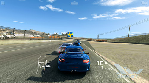 Игра Real Racing 3 на Dexp Ixion ML2 5