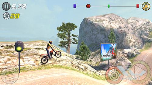 Игра Trial Xtreme 3 на Dexp Ixion ML2 5
