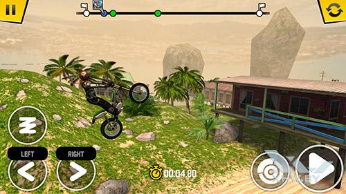 Игра Trial Xtreme 4 на Dexp Ixion ML2 5