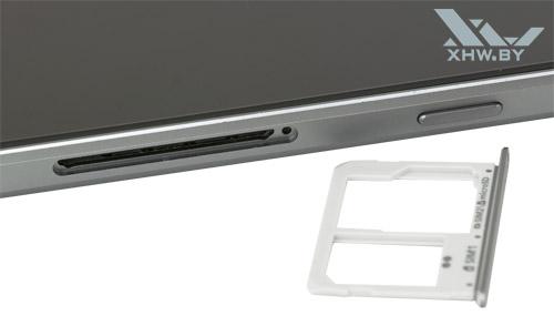 Отсек для SIM-карты на Samsung Galaxy A5 (2016)