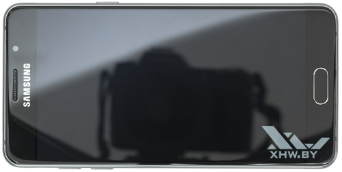 Samsung Galaxy A5 (2016). Вид сверху