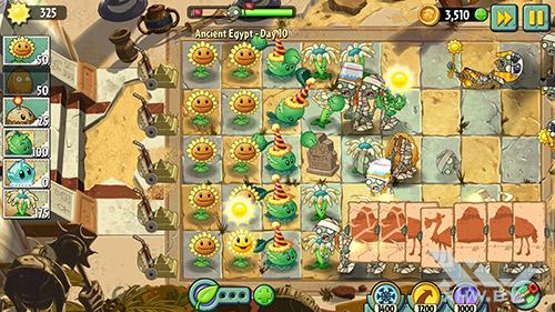 Игра Plants vs Zombies 2 на Samsung Galaxy A5 (2016)
