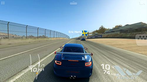 Игра Real Racing 3 на Samsung Galaxy A5 (2016)