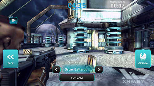 Игра Shadowgun: Dead Zone на Samsung Galaxy A5 (2016)