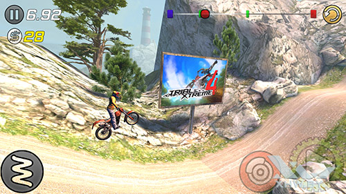 Игра Trial Xtreme 3 на Samsung Galaxy A5 (2016)