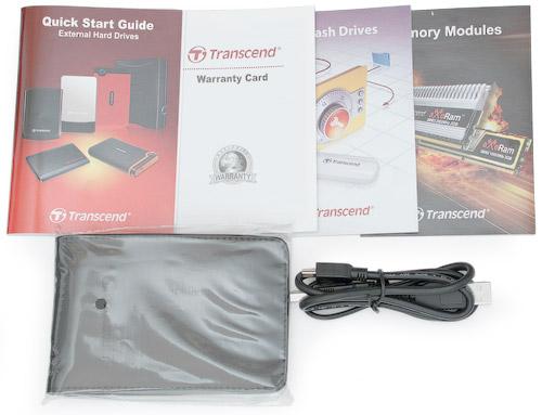 Комплект поставки. Transcend StoreJet 25С 320 Гбайт (TS320GSJ25C)