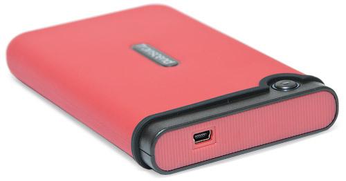 Разъем mini USB. Transcend StoreJet 25M 320 Гбайт (TS320GSJ25M-R)