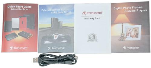 Комплект поставки. Transcend StoreJet 25M 320 Гбайт (TS320GSJ25M-R)