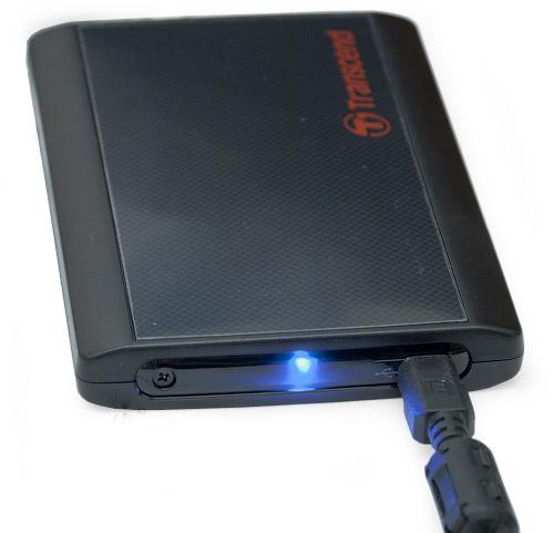 В работе. Transcend StoreJet 25P 320 Гбайт (TS320GSJ25P)