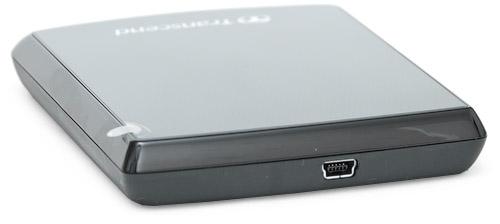 Разъем mini USB. Transcend StoreJet 25F 320 Гбайт (TS320GSJ25F)
