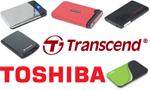 Обзор пяти внешних жестких дисков: четыре Transcend по 320 Гбайт и один Toshiba на 640 Гбайт