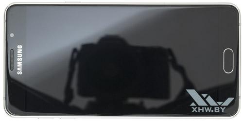 Samsung Galaxy A7 (2016). Вид сверху
