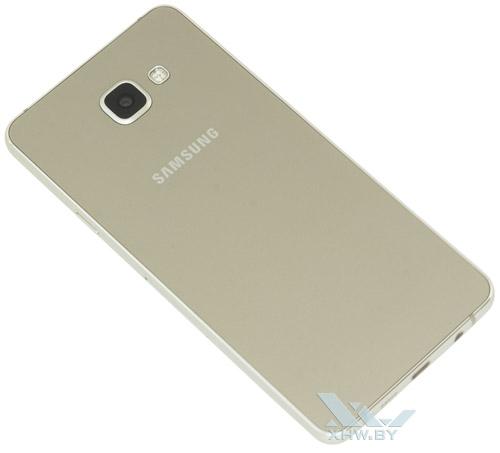 Samsung Galaxy A7 (2016). Вид сзади