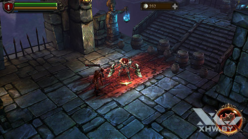 Игра Eternity Warriors 2 на Samsung Galaxy A7 (2016)