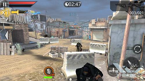 Игра Frontline Commando 2 на Samsung Galaxy A7 (2016)
