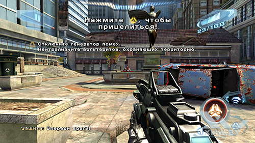 Игра N.O.V.A. 3 на Samsung Galaxy A7 (2016)