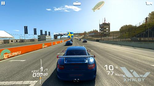 Игра Real Racing 3 на Samsung Galaxy A7 (2016)
