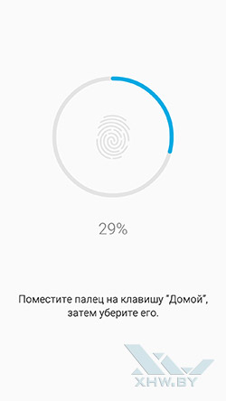 Добавление отпечатка на Samsung Galaxy A7 (2016)