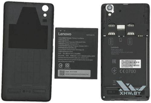 Внутри Lenovo A6010