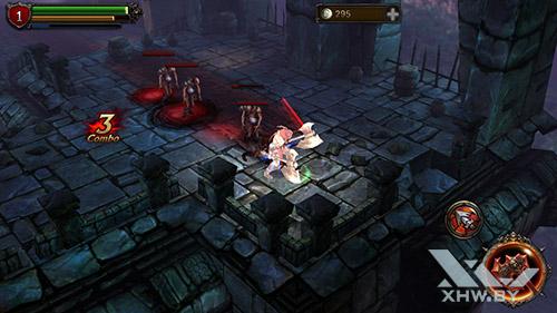 Игра Eternity Warriors 2 на Lenovo A6010