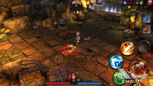 Игра Eternity Warriors 3 на Lenovo A6010