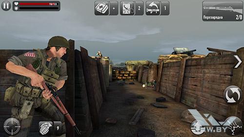 Игра Frontline Commando: Normandy на Lenovo A6010