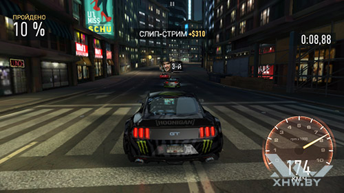 Игра Need For Speed: Most Wanted на Lenovo A6010
