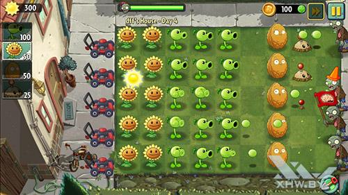 Игра Plants vs Zombies 2 на Lenovo A6010