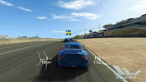 Игра Real Racing 3 на Lenovo A6010