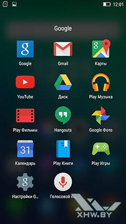 Приложения Google на Lenovo A6010