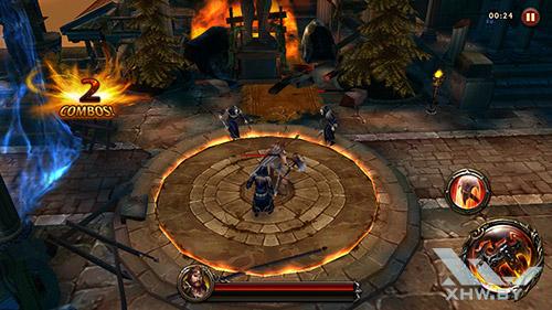 Игра Eternity Warriors 4 на Samsung Galaxy A3 (2016)