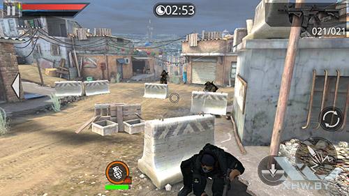 Игра Frontline Commando 2 на Samsung Galaxy A3 (2016)