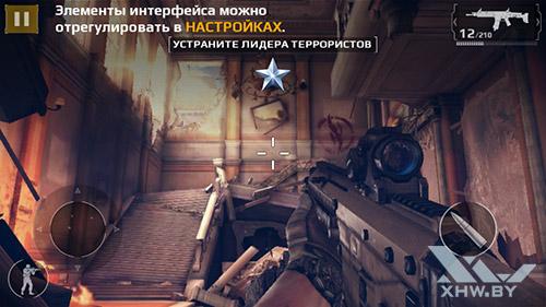 Игра Modern Combat 5 на Samsung Galaxy A3 (2016)