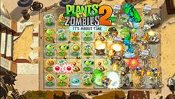 Игра Plants vs Zombies 2 на Samsung Galaxy A3 (2016)