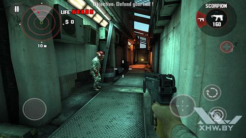 Игра Dead Trigger на Lenovo Phab