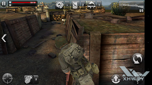 Игра Frontline Commando: Normandy на Lenovo Phab