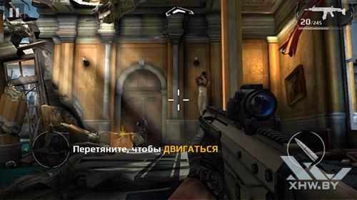 Игра Modern Combat 5 на Lenovo Phab