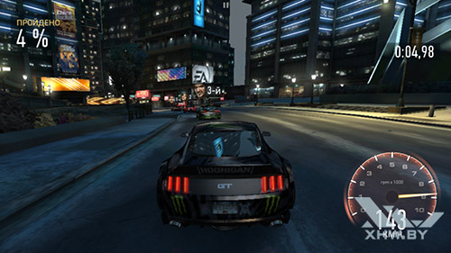 Игра Need For Speed: Most Wanted на Lenovo Phab