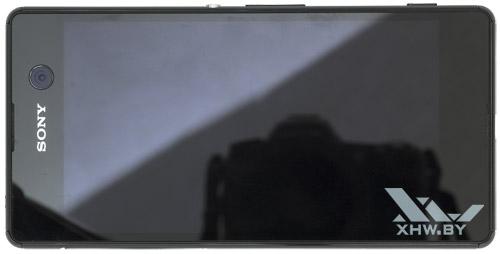 Sony Xperia M5. Вид сверху