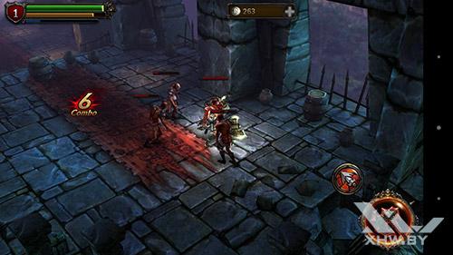 Игра Eternity Warriors 2 на Sony Xperia M5