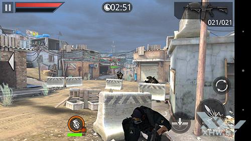 Игра Frontline Commando 2 на Sony Xperia M5