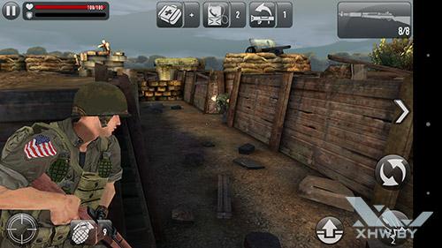 Игра Frontline Commando: Normandy на Sony Xperia M5