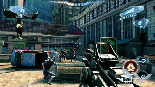 Игра N.O.V.A. 3 на Sony Xperia M5