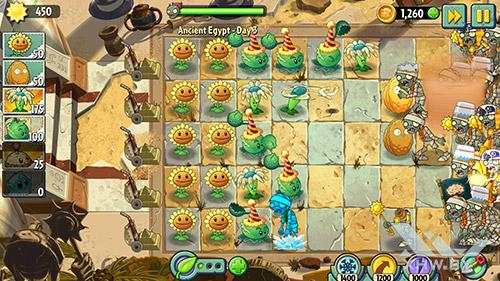 Игра Plants vs Zombies 2 на Sony Xperia M5
