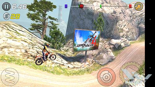 Игра Trial Xtreme 3 на Sony Xperia M5